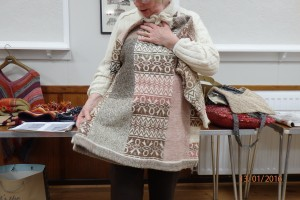 Show and tell - Anthea's jumper #2