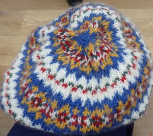 Show and tell - Gill Rise's hat