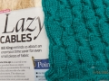 Lazy cables with magazine article
