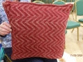 Gills plated cushion